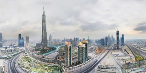 Dubai 360° aerial panoramas