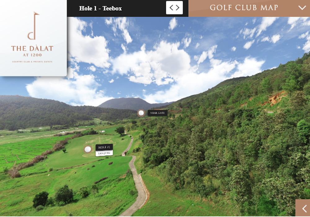 Sân golf và villa cao cấp