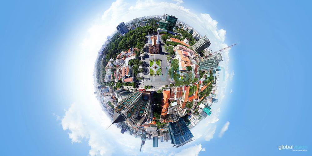 chụp hình panorama 360°
